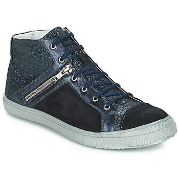 Încăltăminte Fete Pantofi sport stil gheata GBB KAMI Negru / Albastru