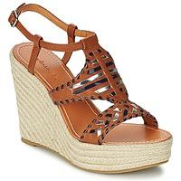 Pantofi Femei Sandale și Sandale cu talpă  joasă Mellow Yellow SAKE Camel