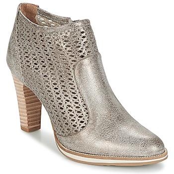 Pantofi Femei Botine Myma LINOPOS Argintiu