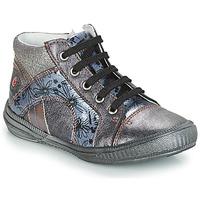 Pantofi Fete Pantofi sport stil gheata GBB ROSETTA Gri / Albastru