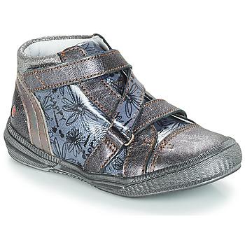 Pantofi Fete Ghete GBB RADEGONDE Gri / Albastru