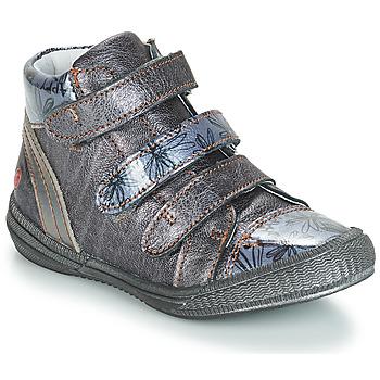 Pantofi Fete Ghete GBB RAFAELE Albastru / Gri