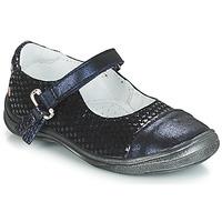 Pantofi Fete Balerin și Balerini cu curea GBB RIKA Albastru