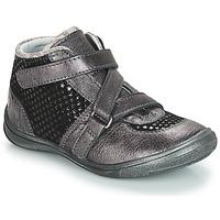 Pantofi Fete Ghete GBB RIQUETTE Gri / Negru