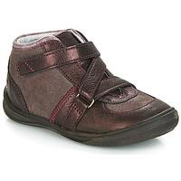 Pantofi Fete Ghete GBB RIQUETTE Maro / Bronz