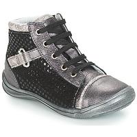 Pantofi Fete Pantofi sport stil gheata GBB ROMIE Negru / Gri
