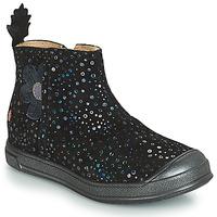 Pantofi Fete Ghete GBB ROMANE Negru