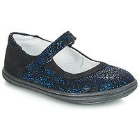 Pantofi Fete Balerin și Balerini cu curea GBB PLACIDA Albastru / Negru