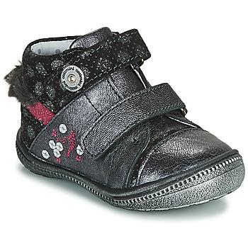 Pantofi Fete Ghete Catimini ROSSIGNOL Gri / Argintiu
