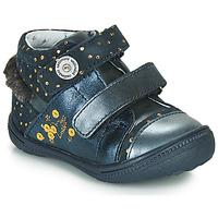 Pantofi Fete Ghete Catimini ROSSIGNOL Bleumarin / Auriu