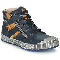 Pantofi Băieți Pantofi sport stil gheata Catimini RAMBOUTAN Albastru / Ocru