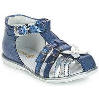 Încăltăminte Fete Sandale și Sandale cu talpă  joasă GBB SHANICE Albastru
