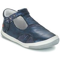 Pantofi Fete Balerin și Balerini cu curea GBB SHAKIRA Albastru