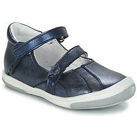 Pantofi Fete Balerin și Balerini cu curea GBB SYBILLE Albastru