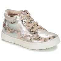 Încăltăminte Fete Pantofi sport stil gheata GBB SACHA Bej / Argintiu