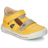 Pantofi Fete Balerin și Balerini cu curea GBB STEVE Galben