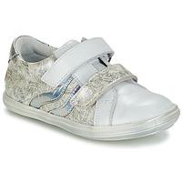 Pantofi Fete Ghete GBB SHEILA Alb