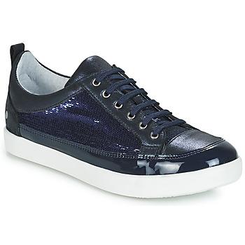 Pantofi Fete Pantofi sport Casual GBB ISIDORA Albastru / Bleumarin