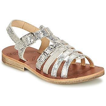 Pantofi Fete Sandale și Sandale cu talpă  joasă GBB BANGKOK Vte / Argintiu / Dpf / Coca