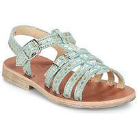Pantofi Fete Sandale  GBB BANGKOK Verde / Auriu