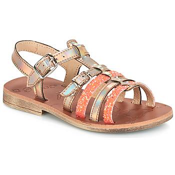 Pantofi Fete Sandale și Sandale cu talpă  joasă GBB BANGKOK Auriu