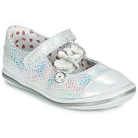 Pantofi Fete Balerin și Balerini cu curea Catimini STROPHAIRE Argintiu