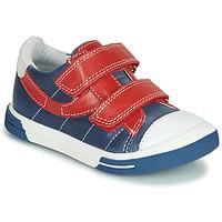 Pantofi Băieți Pantofi sport Casual Catimini SORBIER Albastru / Roșu