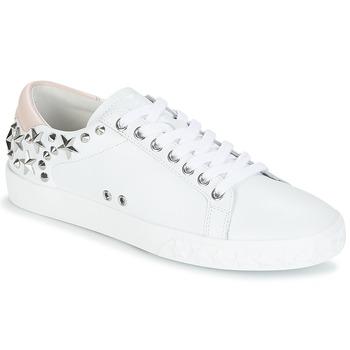 Pantofi Femei Pantofi sport Casual Ash DAZED Alb / Roz