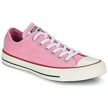 Încăltăminte Femei Pantofi sport Casual Converse CHUCK TAYLOR ALL STAR HI STONE WASH Roz