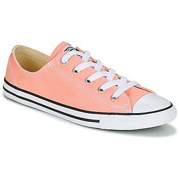 Încăltăminte Femei Pantofi sport Casual Converse CHUCK TAYLOR ALL STAR DAINTY OX CANVAS COLOR Roz
