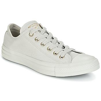 Încăltăminte Femei Pantofi sport Casual Converse CHUCK TAYLOR ALL STAR OX MONO GLAM CANVAS COLOR Gri