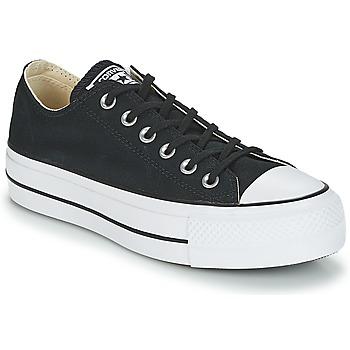 Pantofi Femei Pantofi sport Casual Converse CHUCK TAYLOR ALL STAR LIFT CLEAN OX CORE CANVAS Negru