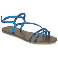 Pantofi Femei Sandale  Les Petites Bombes NELLY Albastru