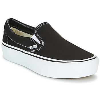 Încăltăminte Femei Pantofi Slip on Vans SLIP-ON PLATFORM Negru