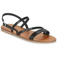 Pantofi Femei Sandale și Sandale cu talpă  joasă Les Tropéziennes par M Belarbi BADEN Negru