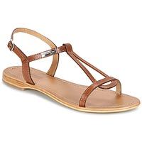 Pantofi Femei Sandale și Sandale cu talpă  joasă Les Tropéziennes par M Belarbi HAMESS Tan