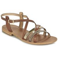 Pantofi Femei Sandale și Sandale cu talpă  joasă Les Tropéziennes par M Belarbi HAPAX Tan / Bej
