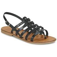 Pantofi Femei Sandale și Sandale cu talpă  joasă Les Tropéziennes par M Belarbi HERILO Negru