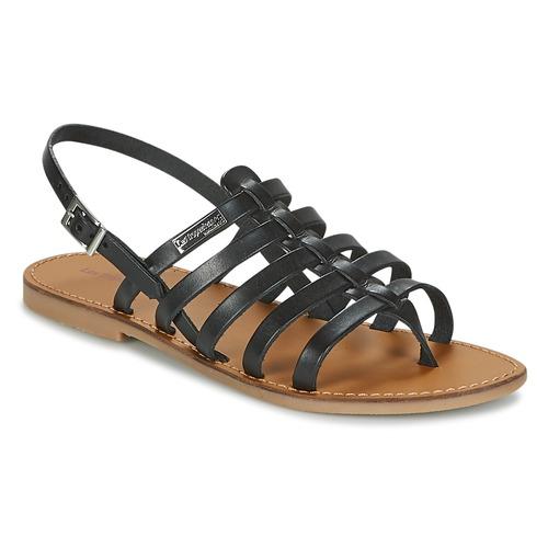 Pantofi Femei Sandale  Les Tropéziennes par M Belarbi HERILO Negru