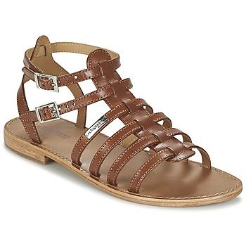 Pantofi Femei Sandale și Sandale cu talpă  joasă Les Tropéziennes par M Belarbi HIC Tan