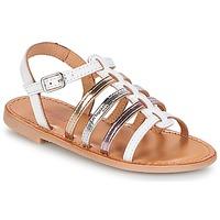 Pantofi Fete Sandale și Sandale cu talpă  joasă Les Tropéziennes par M Belarbi MONGUE Alb