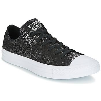 Încăltăminte Femei Pantofi sport Casual Converse CHUCK TAYLOR ALL STAR OX TIPPED METALLIC Negru