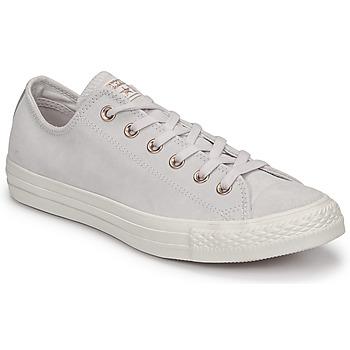 Pantofi Femei Pantofi sport Casual Converse CHUCK TAYLOR ALL STAR-OX Roz / Alb