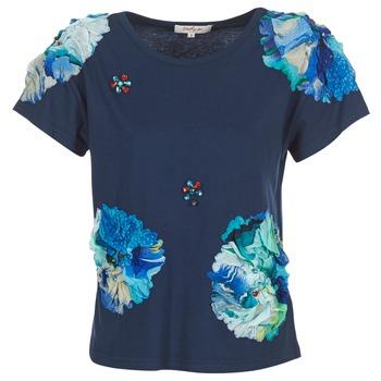 Îmbracaminte Femei Tricouri mânecă scurtă Derhy BANGKOK Bleumarin