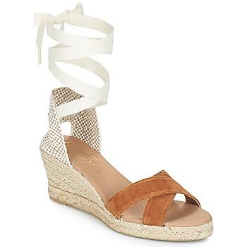 Pantofi Femei Sandale și Sandale cu talpă  joasă Betty London IDILE Maro