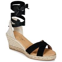 Pantofi Femei Sandale și Sandale cu talpă  joasă Betty London IDILE Negru