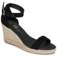 Pantofi Femei Sandale și Sandale cu talpă  joasă Betty London INDALI Negru