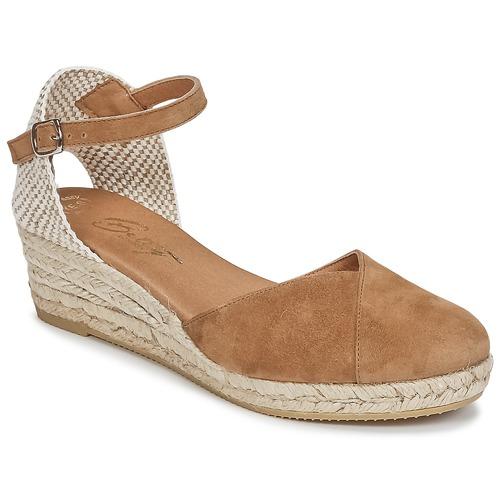 Pantofi Femei Sandale  Betty London INONO Camel