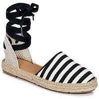 Pantofi Femei Espadrile Betty London INANO Negru / Alb