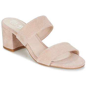 Pantofi Femei Papuci de vară Betty London INALO Nude